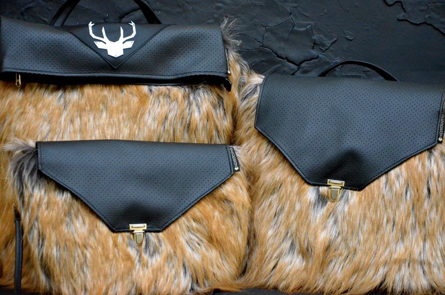 Fluffy Chewbacca szőrös táska