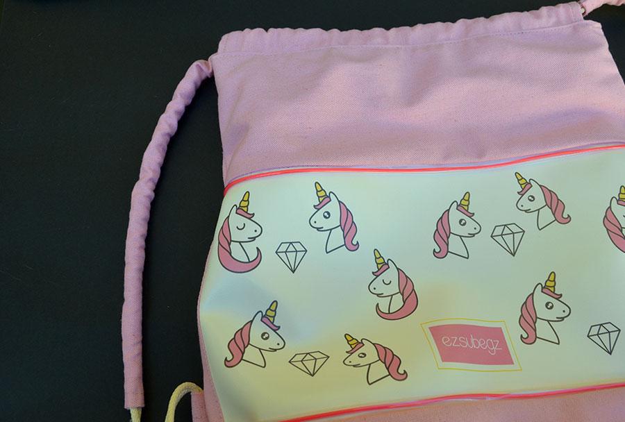 unicorn fesztivál táska